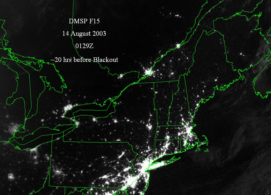 Great Northeast Power Blackout Of 2003