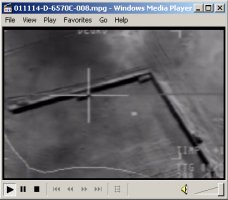 Movie showing airstrike on a truck near Herat. By the large secondary explosion, the DoD believes the truck was likely carrying either fuel or ammunition