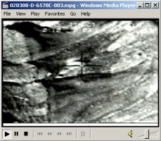 Video showing March 5, 2002, F-15 strike on a cave entrance just south of Babulkhel