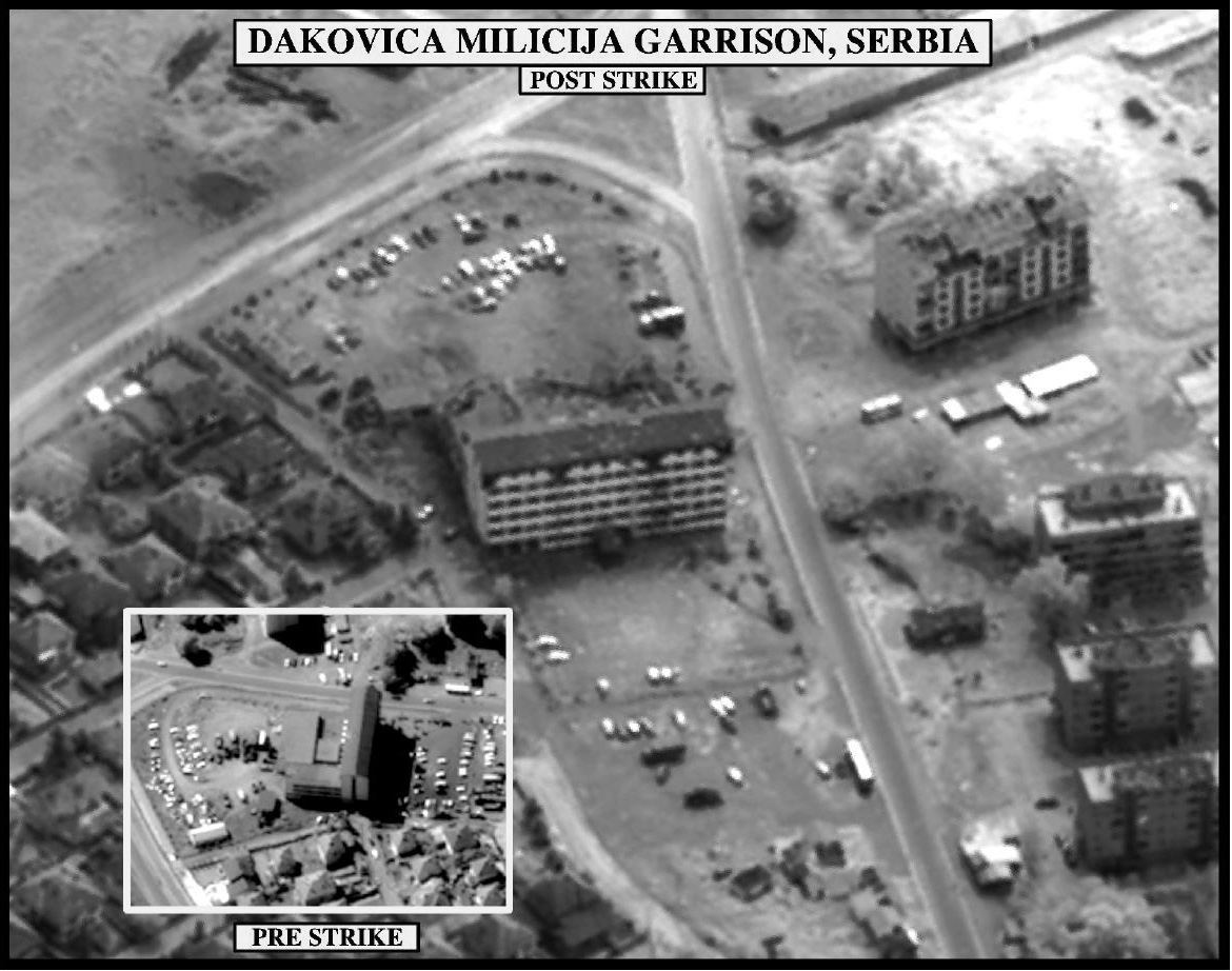 Kosovo Operation Allied Force Imagery