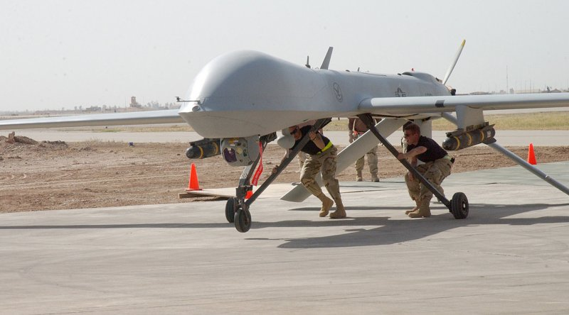 US military drone crashes in Seychelles - Telegraph