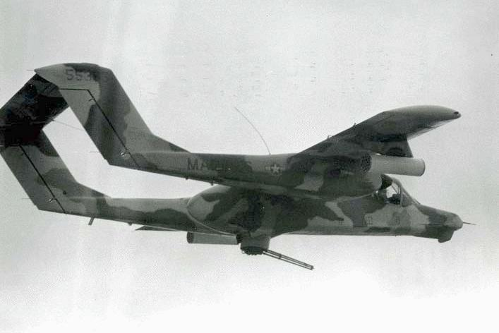 Ov 10 bronco A Case for Army Fixed Wing Aircraft