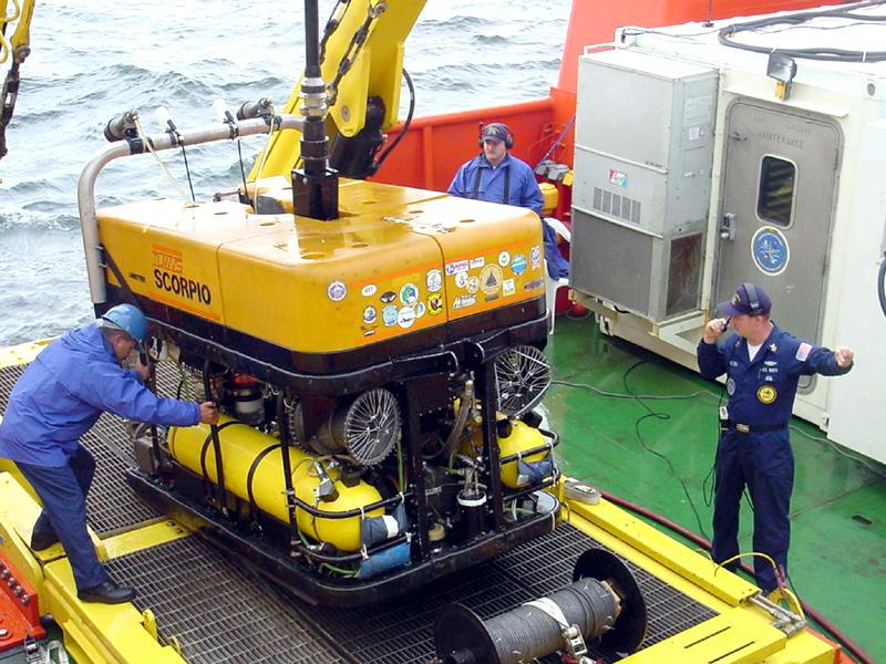 Tethered Unmanned Work Vehicle System (TUWVS) (SUPER SCORPIO ROV)