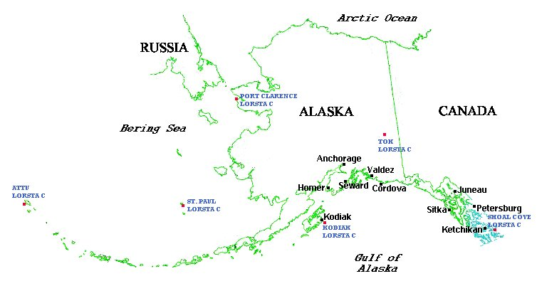 Coast Guard Seventeenth District Us Naval Forces Alaska