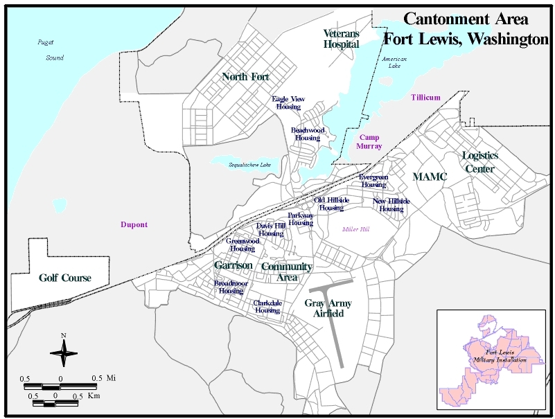 Fort lewis for Washington state approved house plans