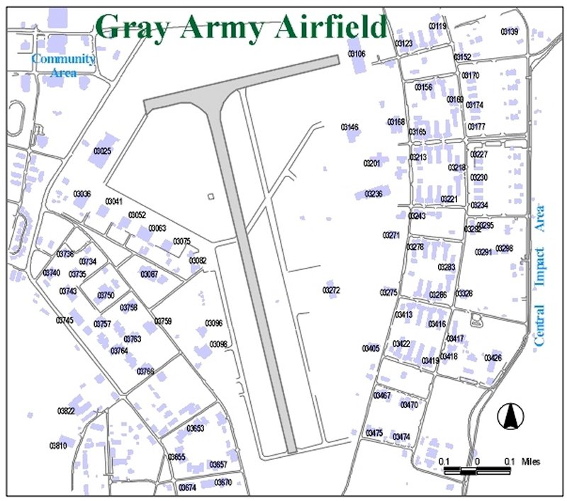 Fort Hood Map Building Numbers