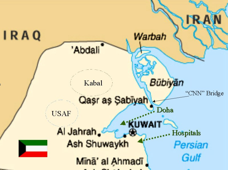 The Kabals - Us bases in kuwait map
