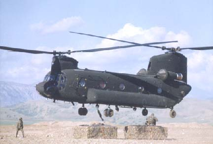 CH-47F IMPROVED CARGO HELICOPTER (ICH) - FY01 Activity