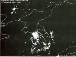 Nighttime Lights, Korean Peninsula