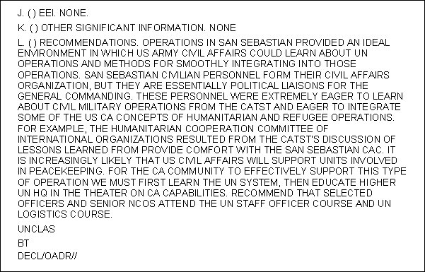 army after action report template Success