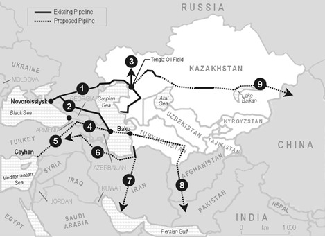 Hydrocarbons and a New Strategic Region The Caspian Sea and