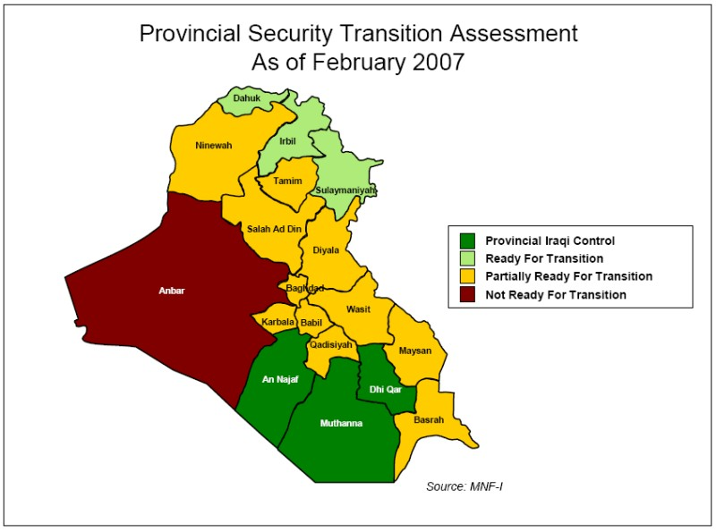 Provisional Security Transition Assessment