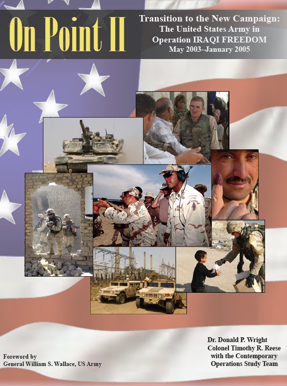 List of book about OIF (Iraq 2003 to present) Cover