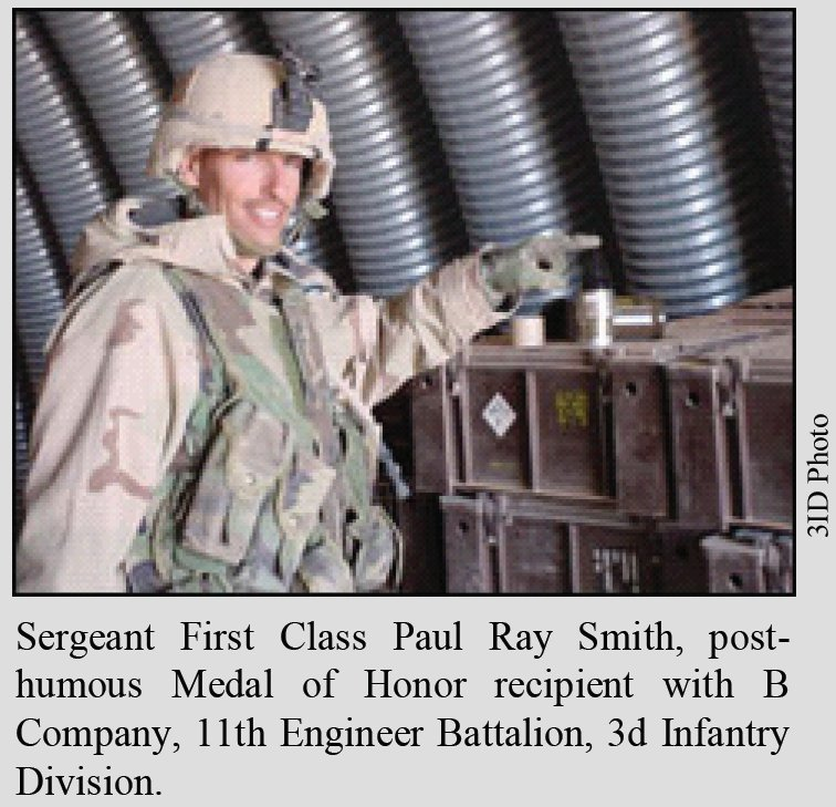 sergeant first class paul smith why Veteran farms - where we have boots on the ground on this day in 2003 sergeant first class paul smith willingly sacrificed his life to save his men while taking.