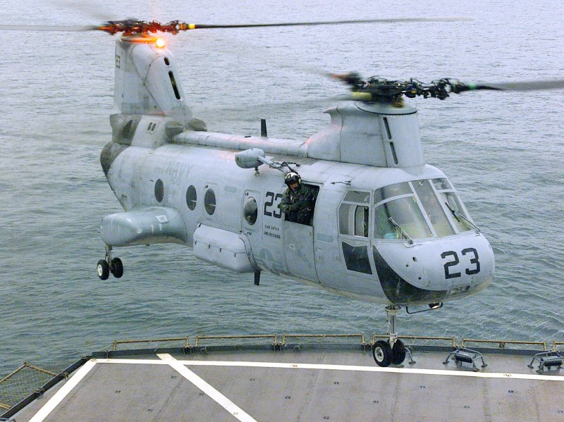 CH-46 Sea Knight Helicopter