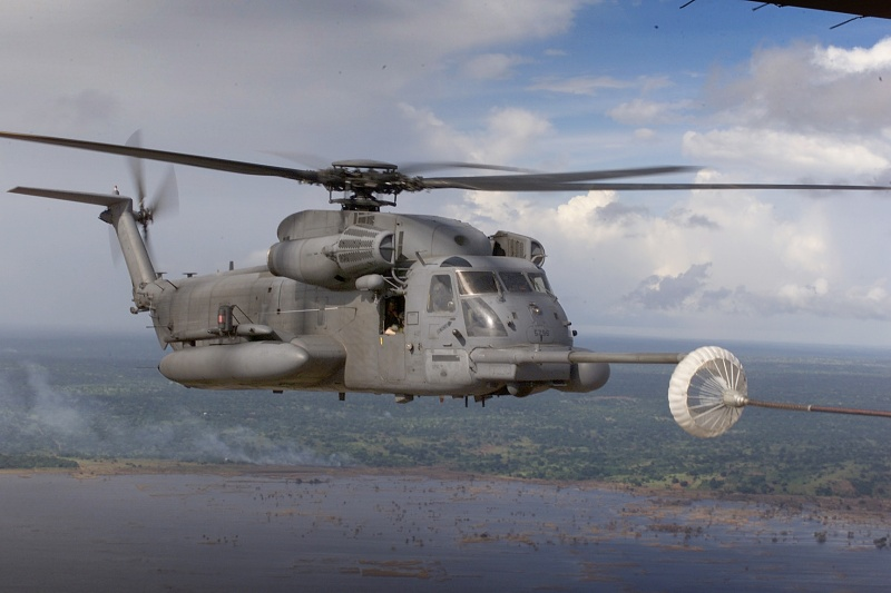 Sikorsky H53 Sea Stallion in Action Aircraft No 174