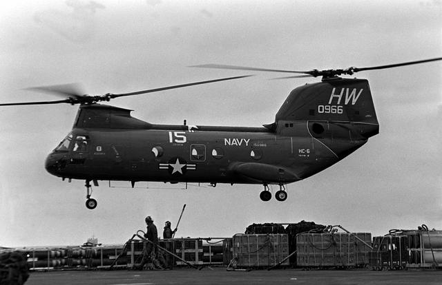 Ch 46 Sea Knight Helicopter