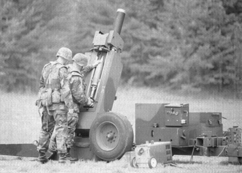 Mortar Fire Control System : Mobile fire support system mfss mm mortar