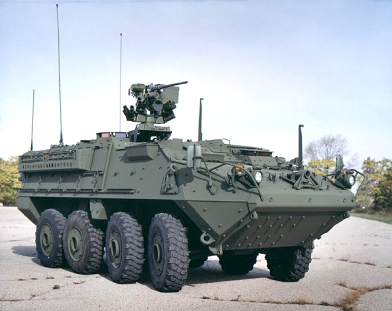 M1126 Stryker ICV - Infantry Carrier Vehicle Pictures