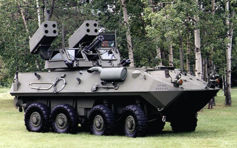 Light Armored Vehicle- Air Defense (LAV-AD)