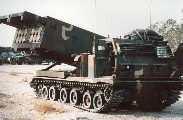 M270 Multiple Launch Rocket System - MLRS