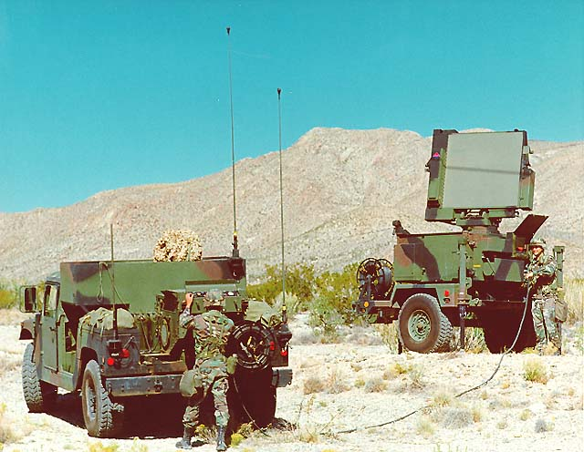 Sentinel Forward Area Air Defense Ground Based Sensor