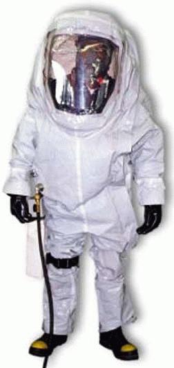 Self-Contained Toxic Environment Protective Outfit