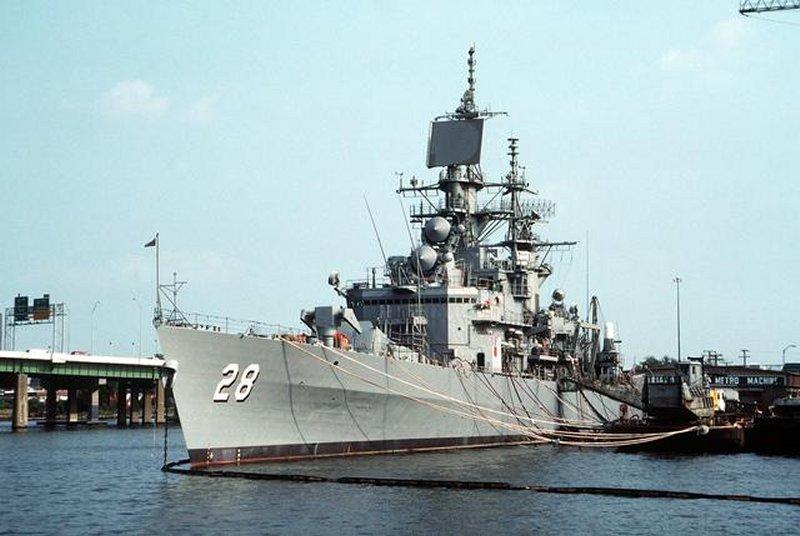 Standley cg 32 belknap class guided missile cruiser us navy images - Uss Concord Ncc 2506 Images Frompo