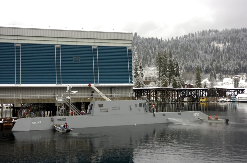 Sea Jet Advanced Electric Ship Demonstrator Aesd