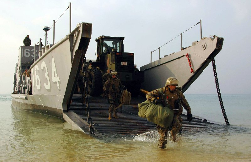 Landing craft utility lcu for Military landing craft for sale