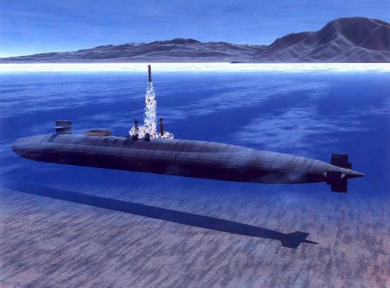 Ohio Class Ssgn 726 Tactical Trident
