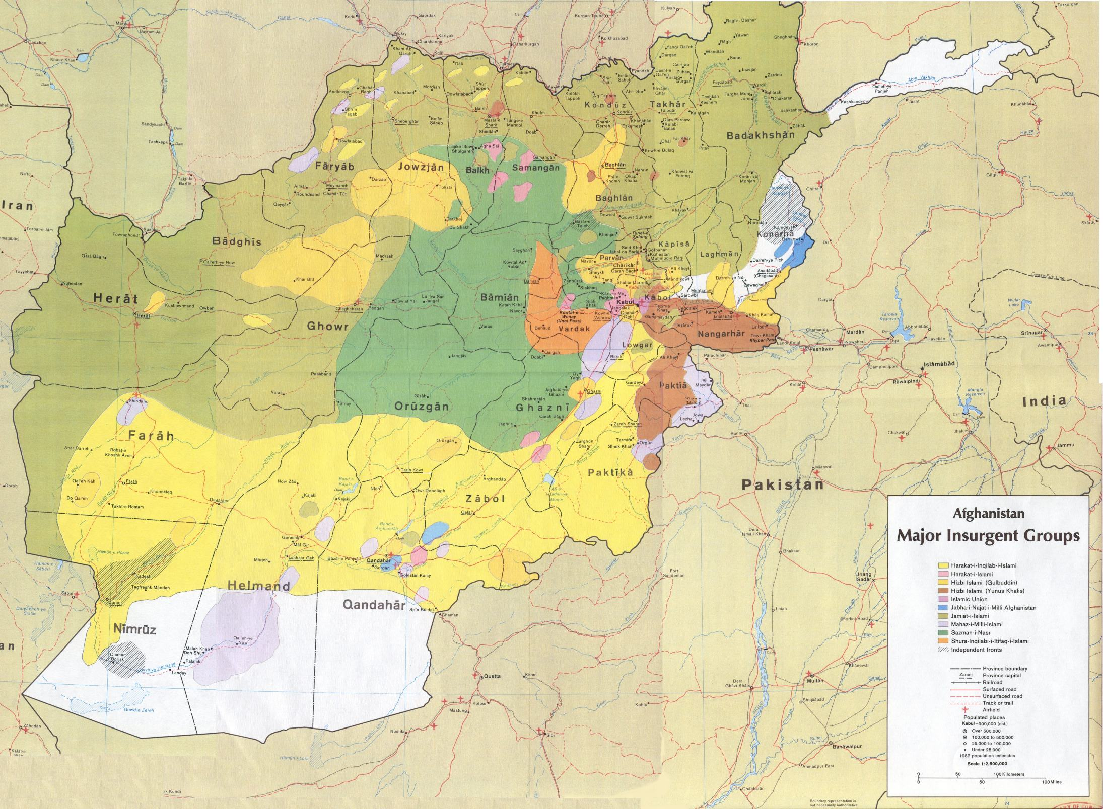 Afghanistan Maps