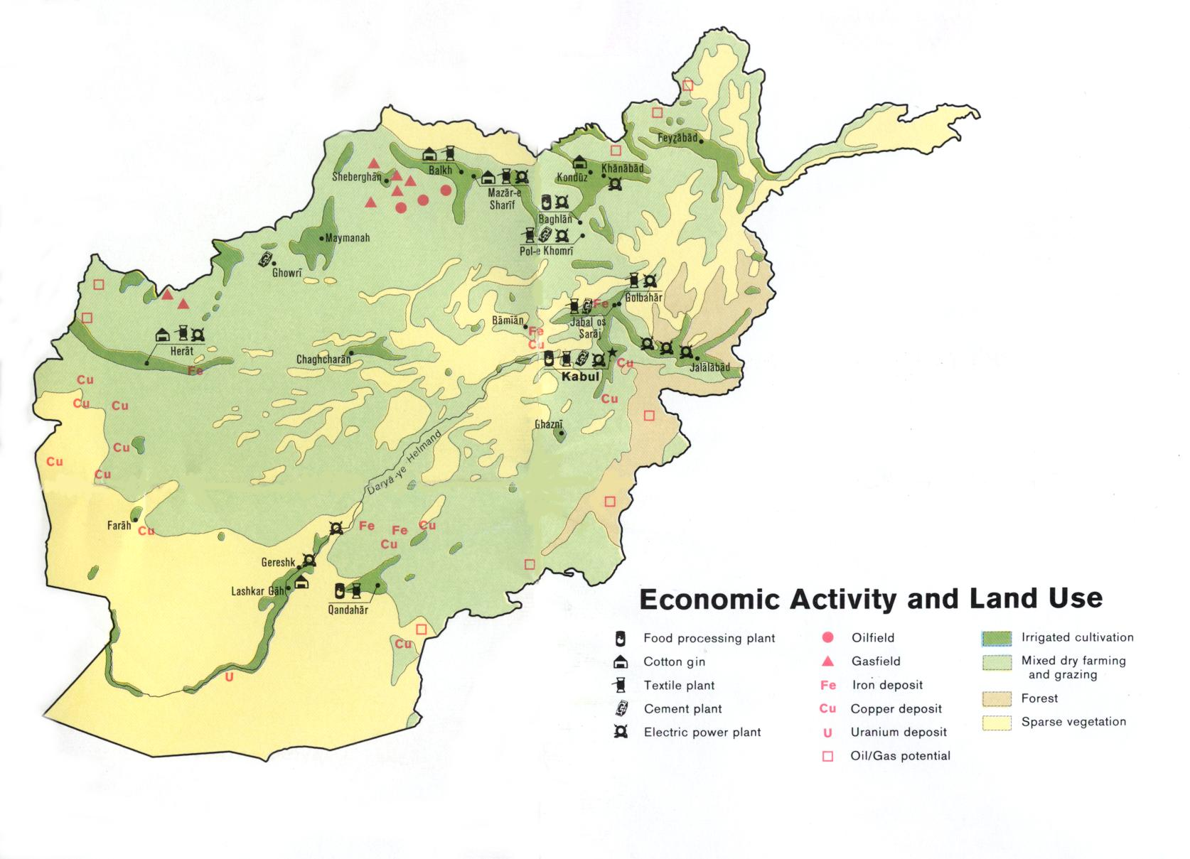 Breaching The Web » Blog Archive » Afghanistan Maps
