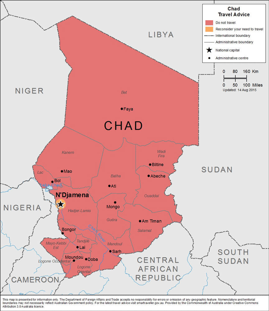 chad africa report Language : english original : french african development fund chad: natural resources management project and development in the sudan region (nrmp.