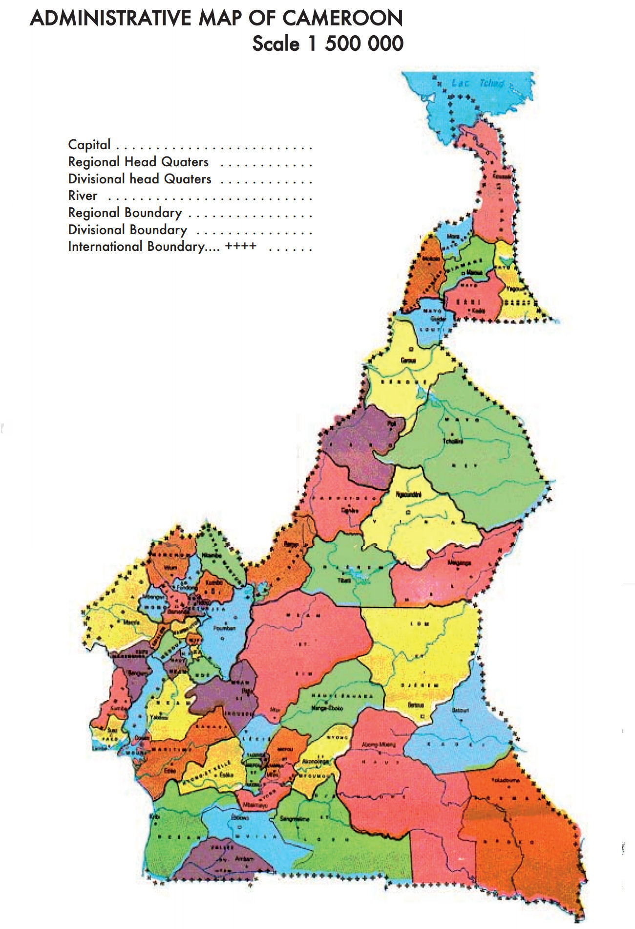 Cameroon Maps - Cameroon map