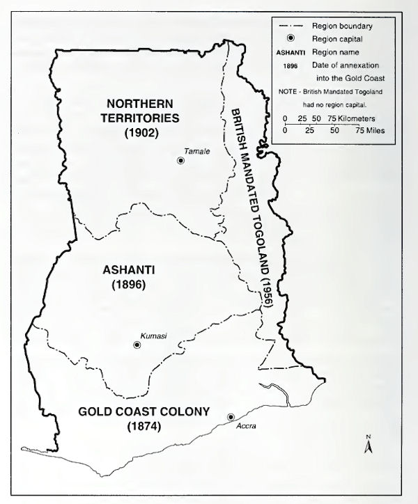 British Gold Coast Colonial Rule