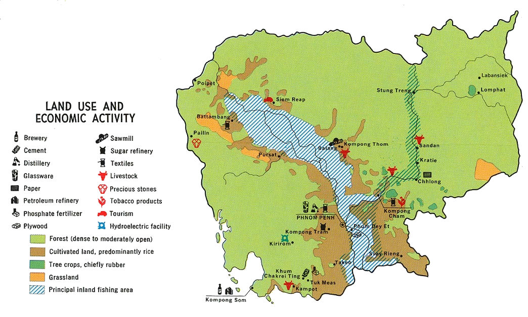 Major Natural Resources In Cambodia