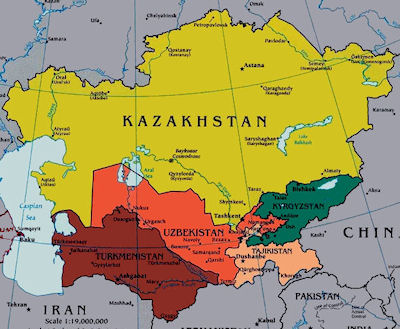 Central Asia Military Guide