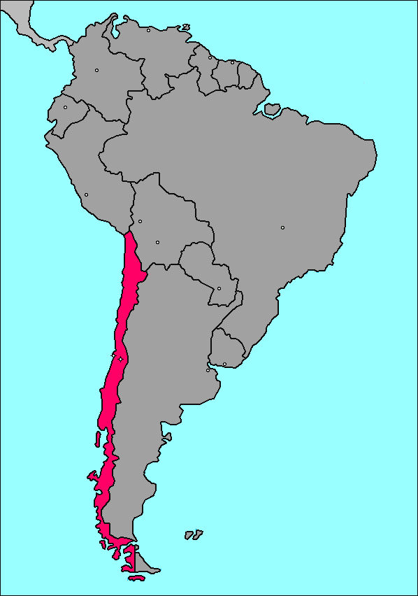 Map Chile