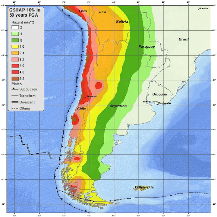 Chile Maps - Chile map
