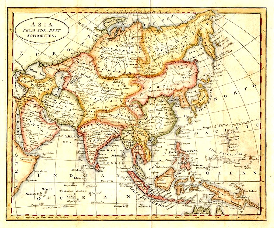 on china historical map 1890 1907