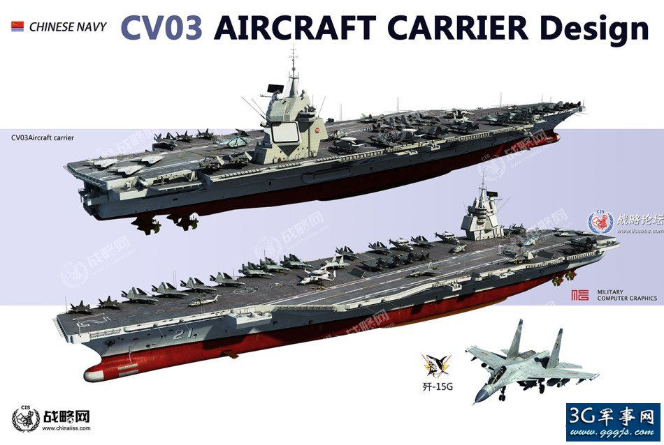 Picture Of China Made Aircraft Carrier Drawn By A User