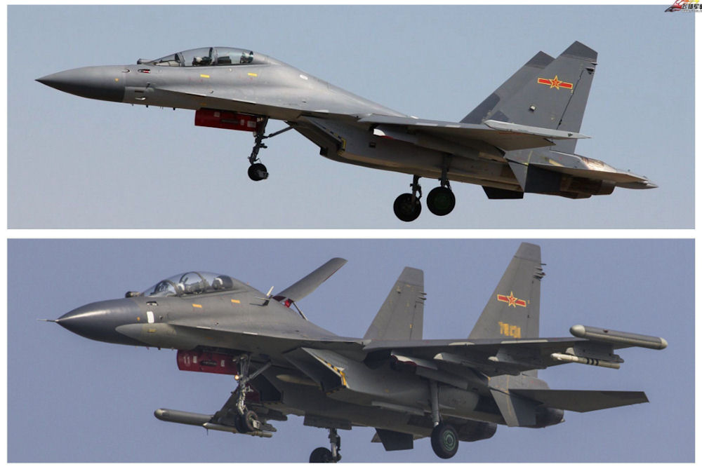 J-16 (Jianjiji-16 Fighter aircraft 16) / F-16
