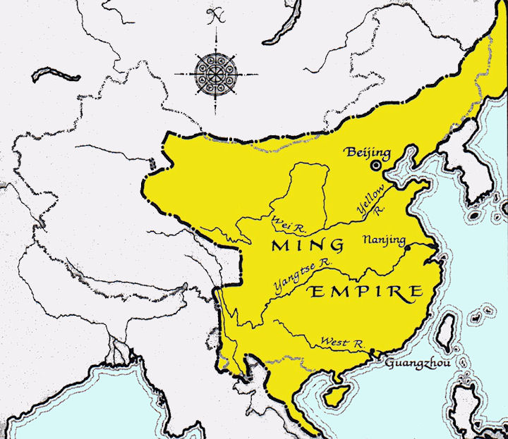 China history maps 1368 1644 ming gumiabroncs Gallery