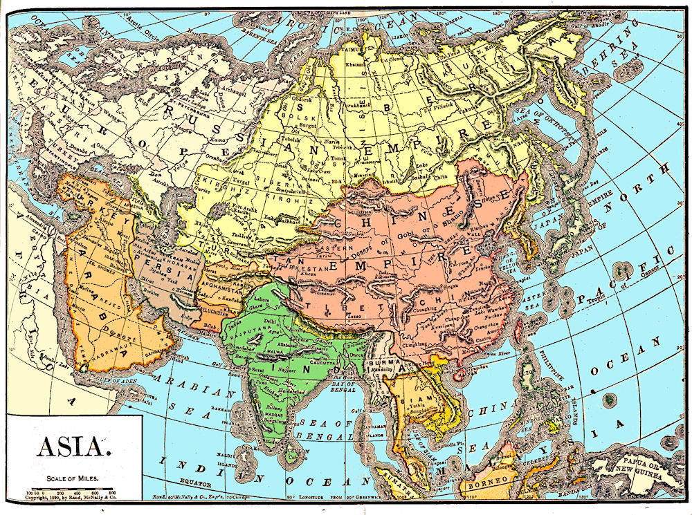 China history maps 1644 1912 qing ching manchu china history map 1890 qing ching manchu gumiabroncs Gallery