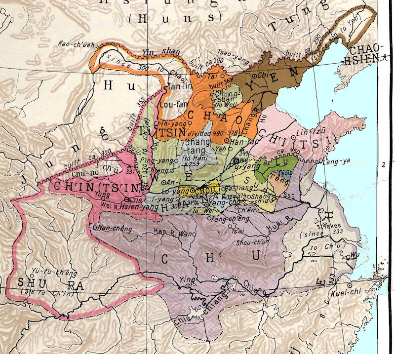 a brief summary of the warring states zhanguo or chan kuo in china