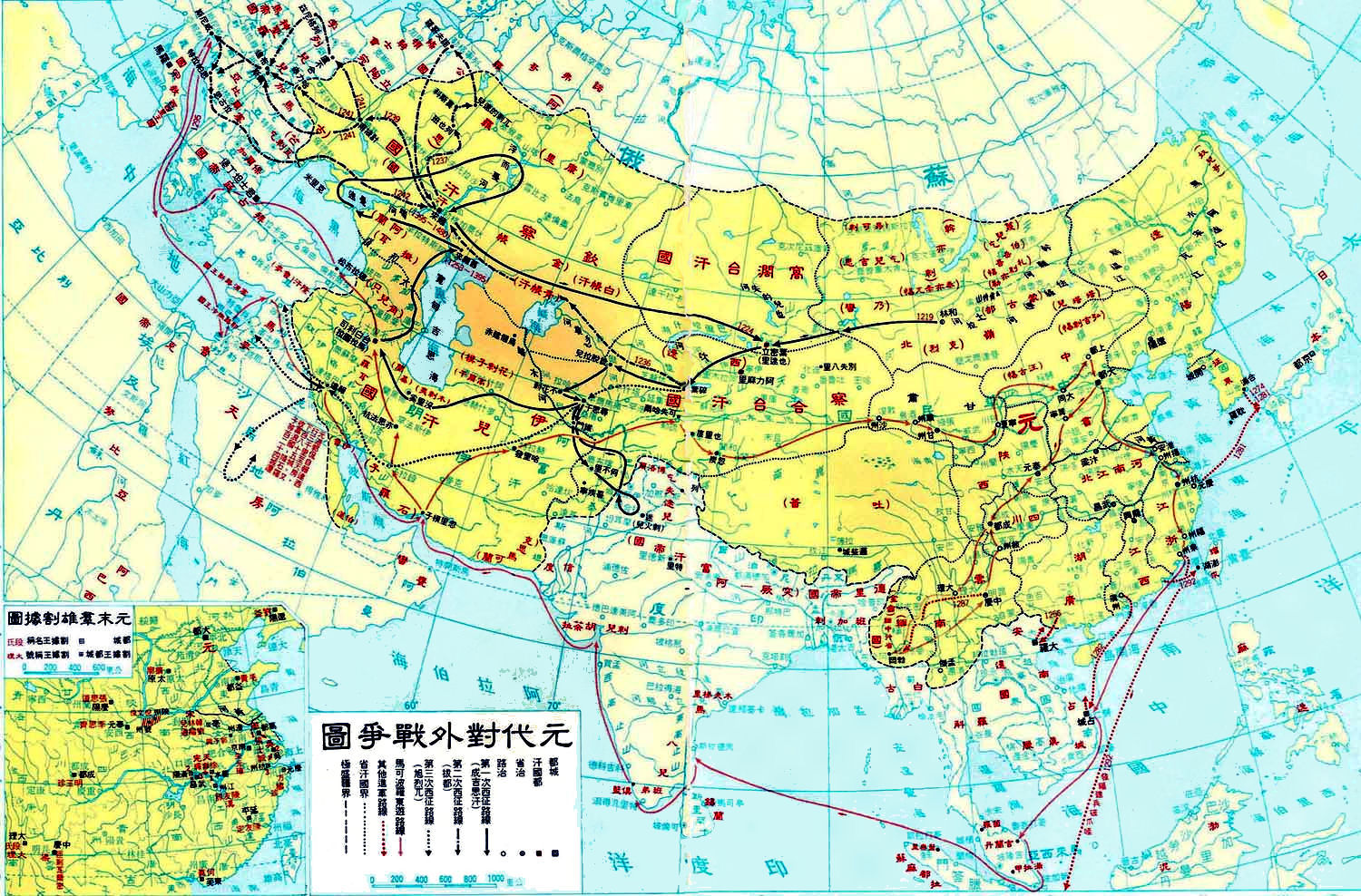 China history maps 1271 1368 yuan mongol china history map 1480 yuan mongol gumiabroncs Images