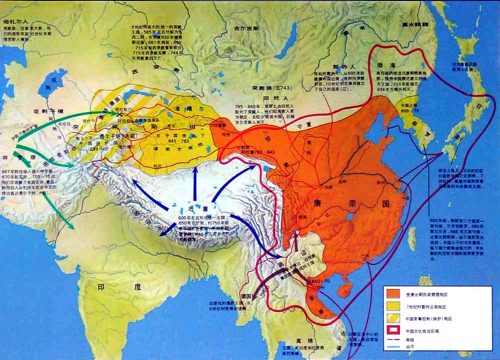 China history maps 618 906 tang tang china history map tang dynasty sciox Choice Image