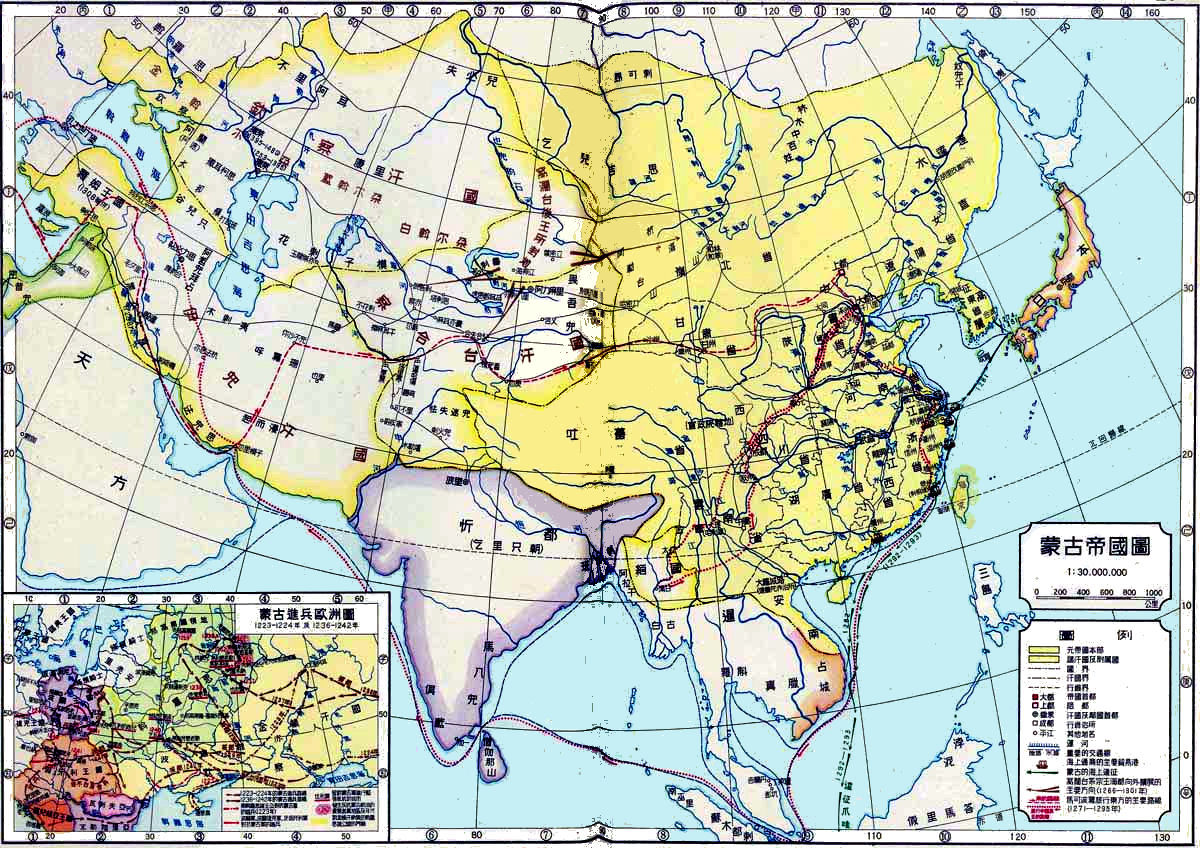 China history maps 1271 1368 yuan mongol gumiabroncs Images