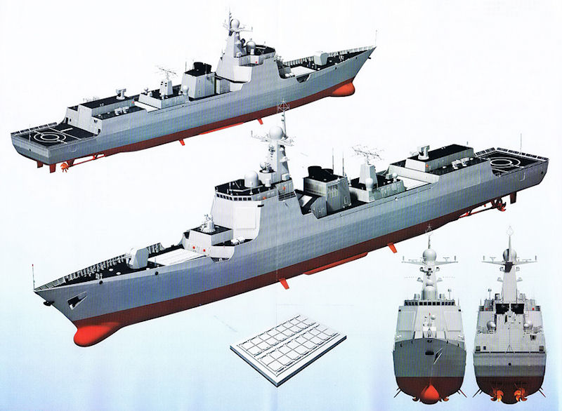 DDG X Area Defense Project Peoples Liberation Army Navy